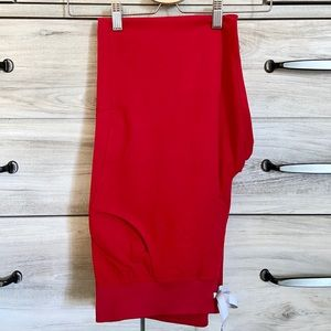 NWT FIGS KADE LIMITED EDITION RED SCRUB PANTS